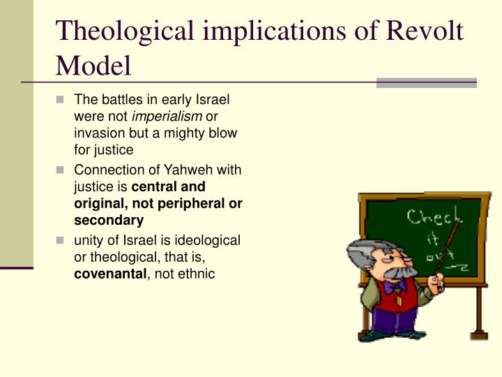 Theological implications of Revolt Model