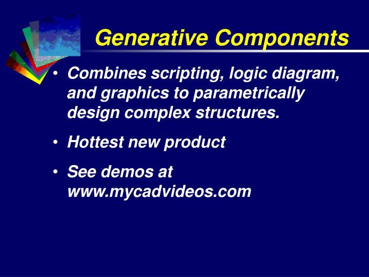 Generative Components
