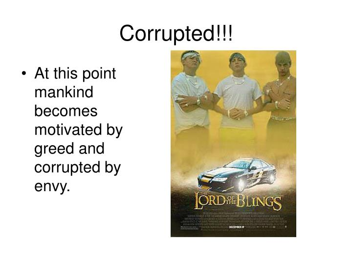 Corrupted!!!