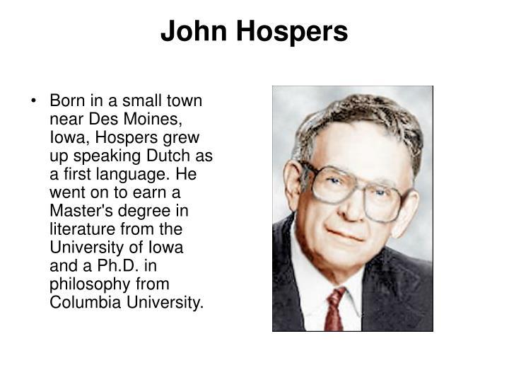 John Hospers
