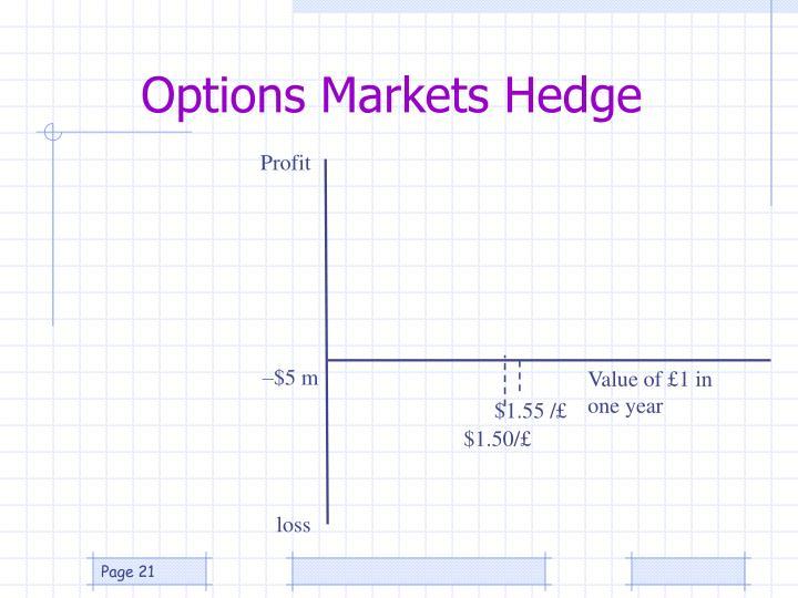Options Markets Hedge