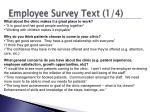 employee survey text 1 4