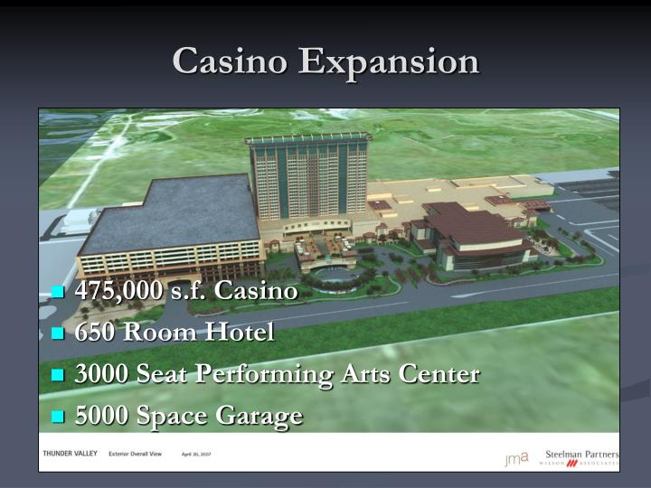 Casino Expansion