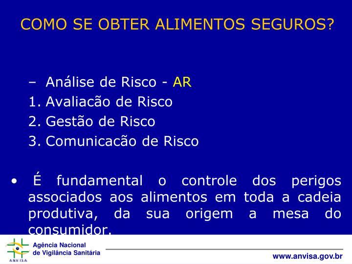 Análise de Risco -