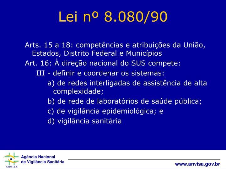 Arts. 15 a 18: competências e atribuições da União, Estados, Distrito Federal e Municípios