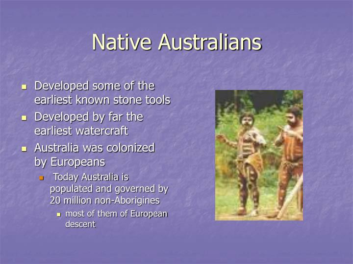 Native Australians