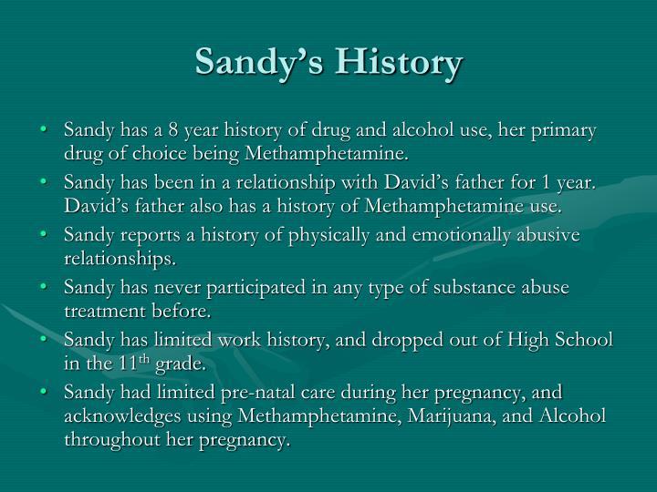 Sandy's History