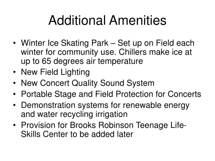 Additional Amenities
