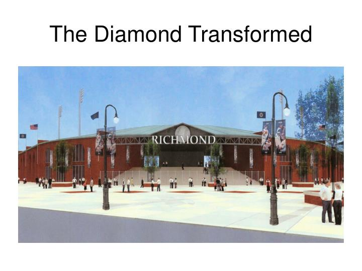 The diamond transformed