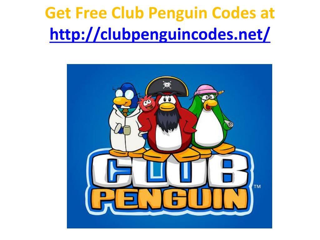 Get Free Club Penguin Codes at