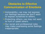 obstacles to effective communication of emotions1