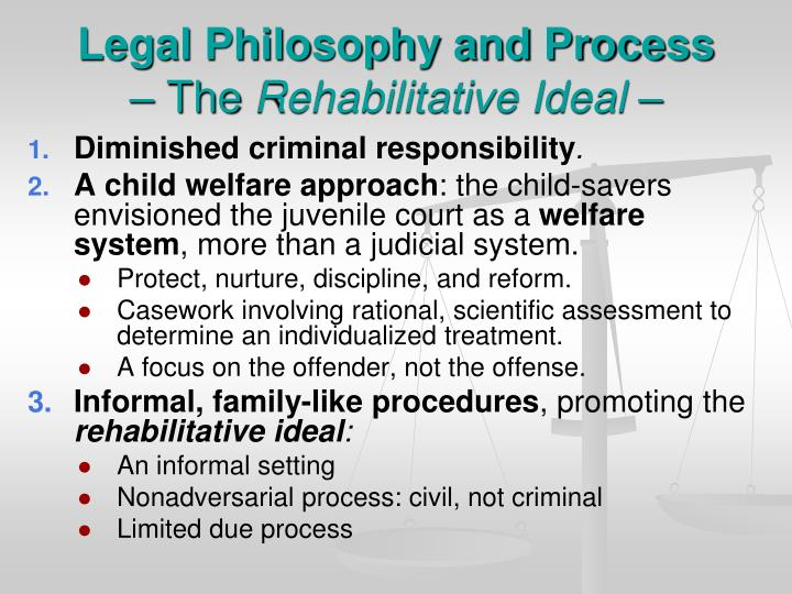 Legal Philosophy and Process