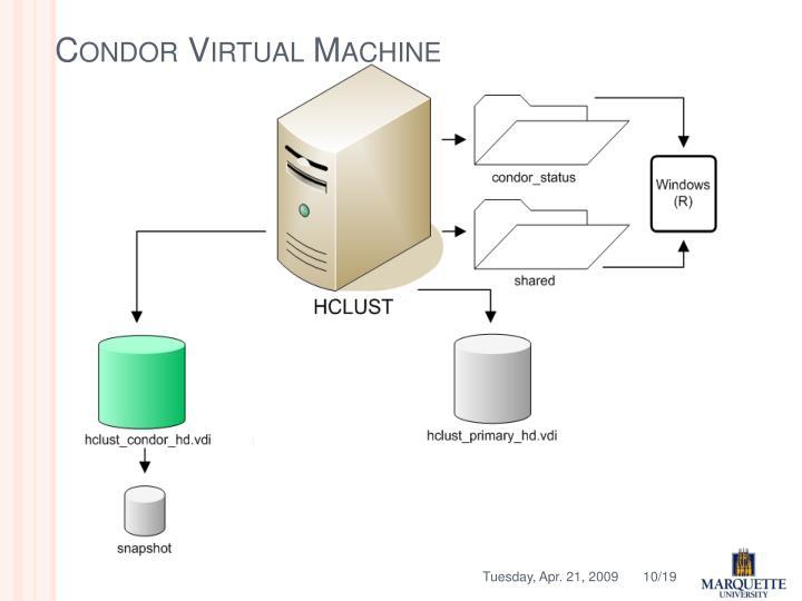 Condor Virtual Machine