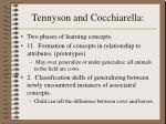 tennyson and cocchiarella