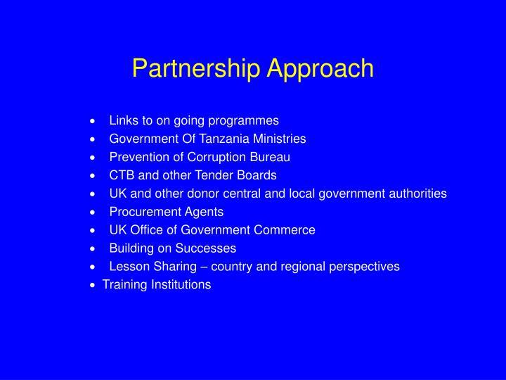 Partnership Approach