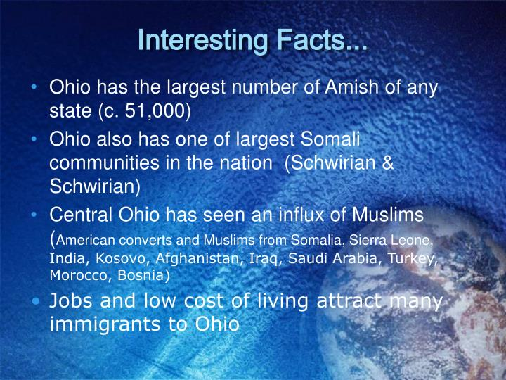 Interesting Facts...