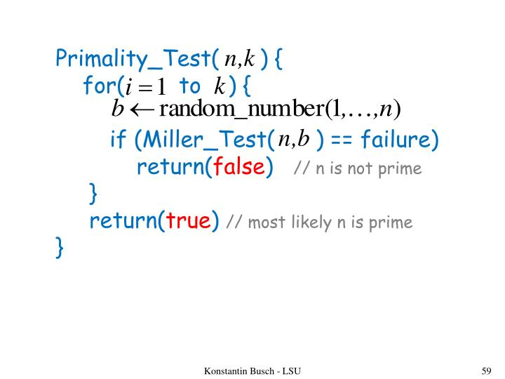Primality_Test(      ) {
