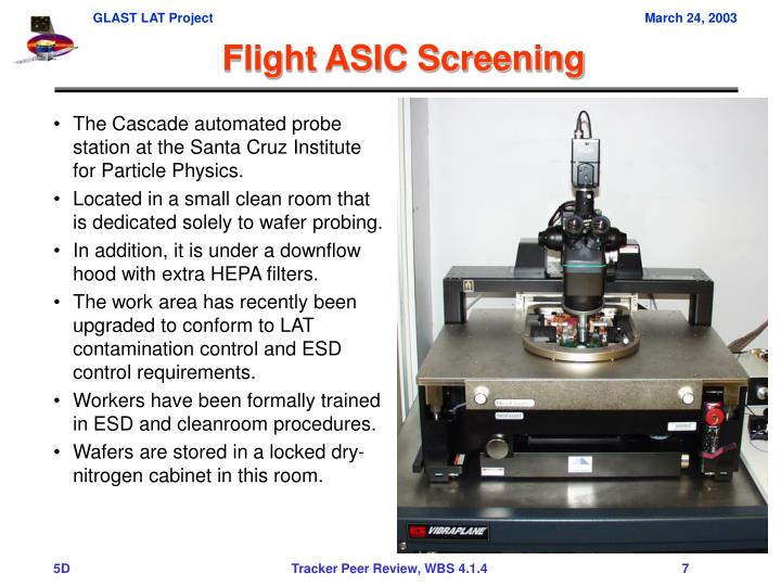 The Cascade automated probe station at the Santa Cruz Institute for Particle Physics.