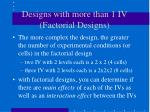 designs with more than 1 iv factorial designs1