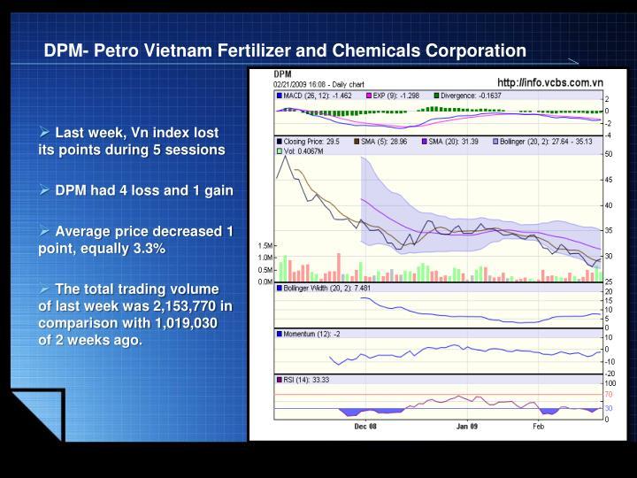 DPM- Petro Vietnam Fertilizer and Chemicals Corporation