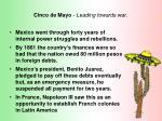cinco de mayo leading towards war