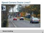 speed camera desire lines