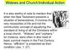 widows and church individual action16