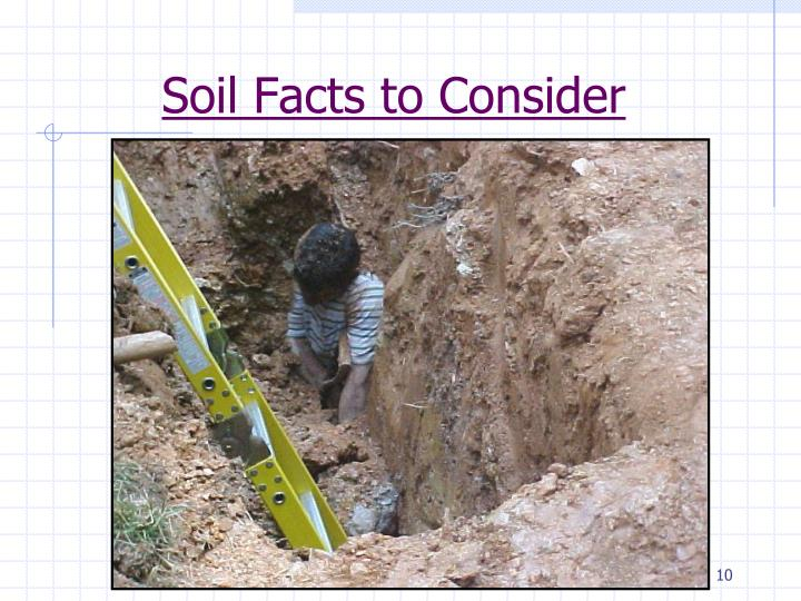 Ppt trench excavation rescue powerpoint presentation for Soil details