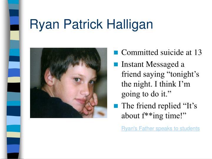 Ryan Patrick Halligan