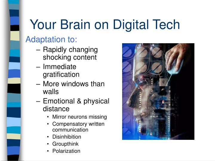Your Brain on Digital Tech