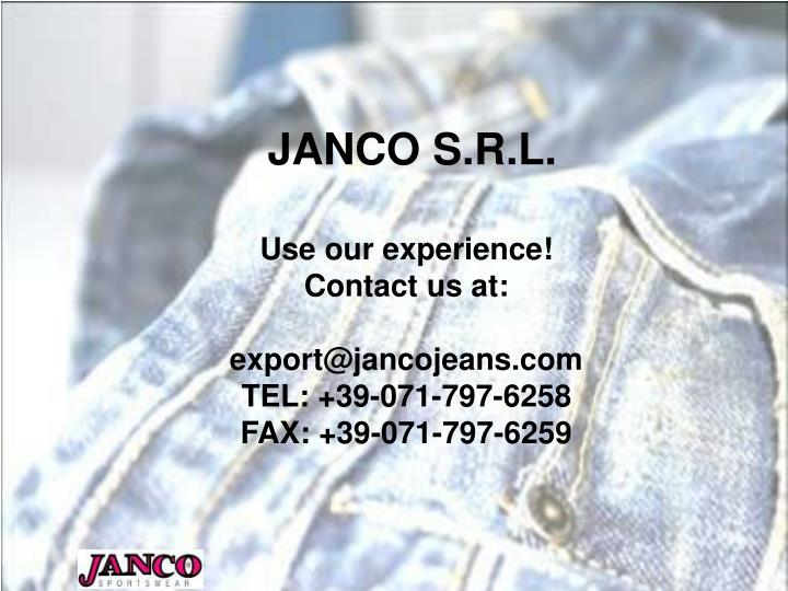 JANCO S.R.L.