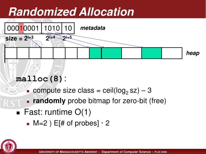 Randomized Allocation