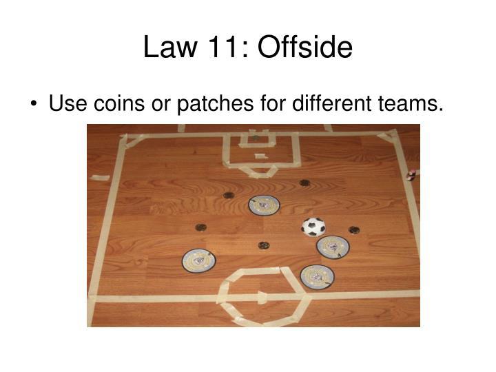 Law 11: Offside