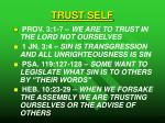 trust self