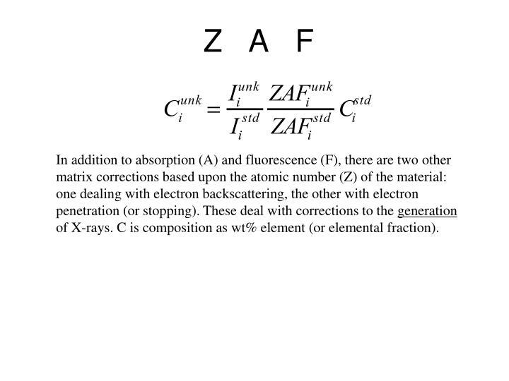 Z   A   F