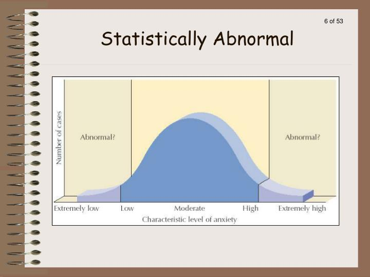 Statistically Abnormal