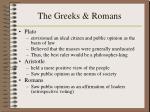the greeks romans