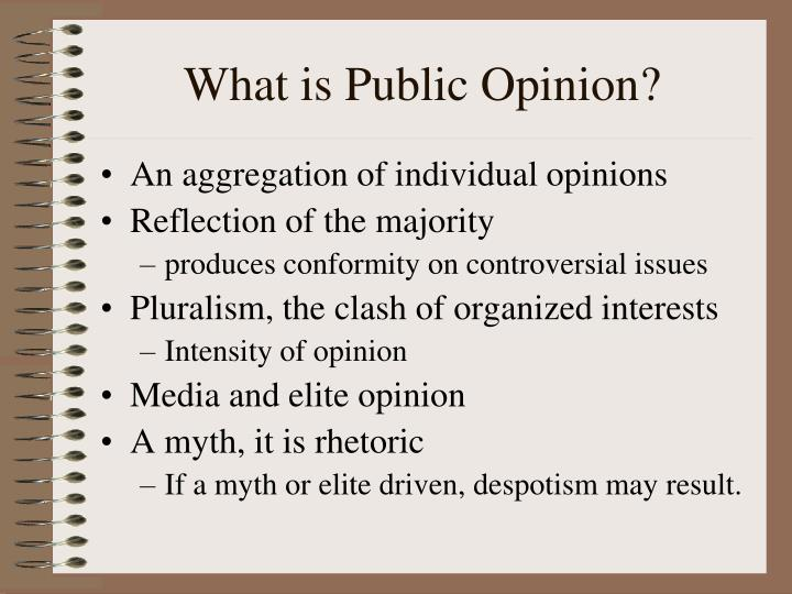 What is Public Opinion?