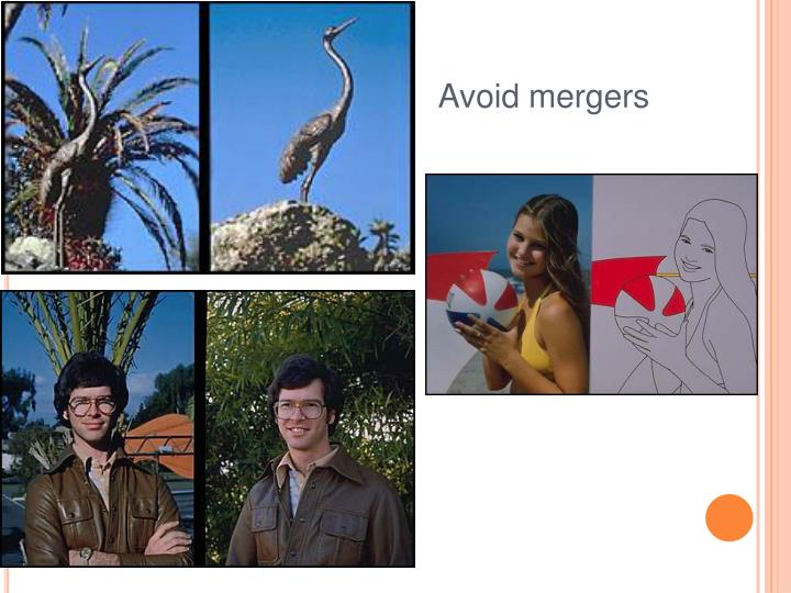 Avoid mergers