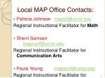 local map office contacts