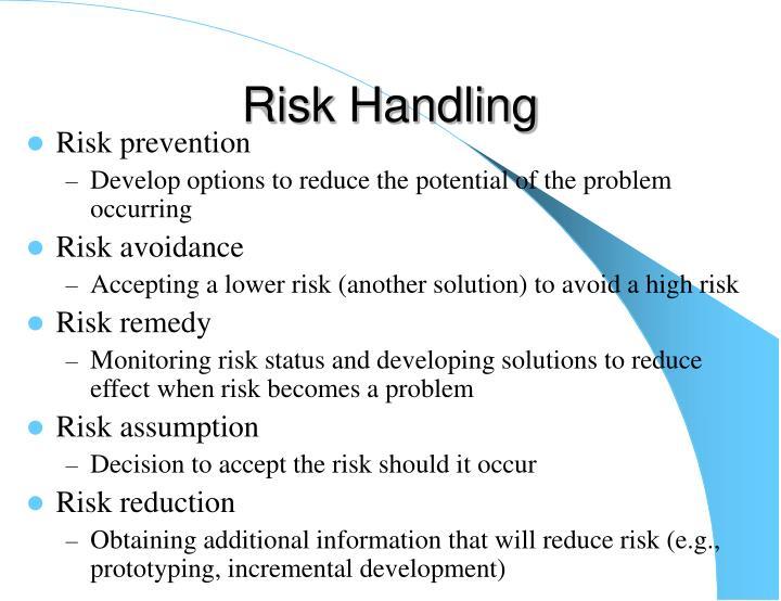 Risk Handling