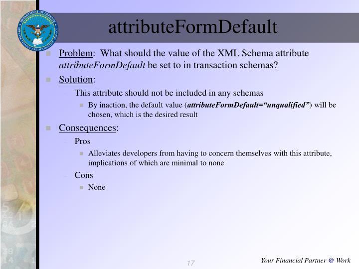 attributeFormDefault