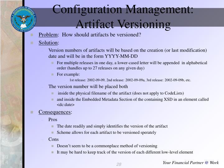 Configuration Management: