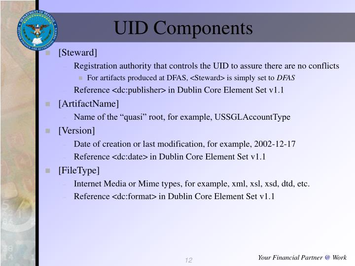 UID Components