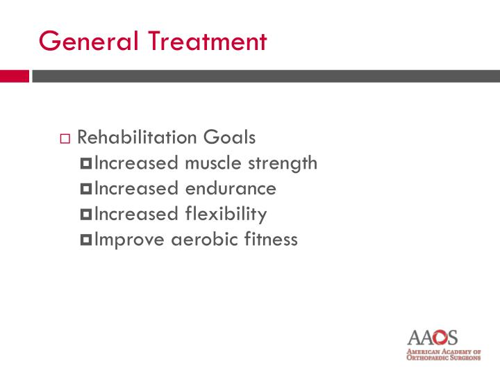 Rehabilitation Goals