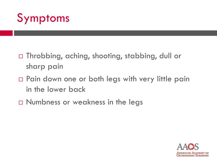 Throbbing, aching, shooting, stabbing, dull or sharp pain