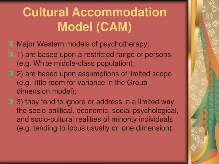 Cultural Accommodation Model (CAM)