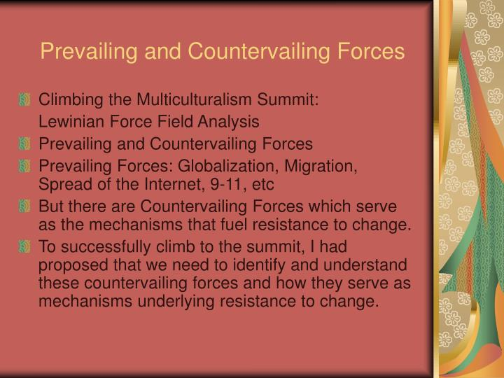 Prevailing and Countervailing Forces
