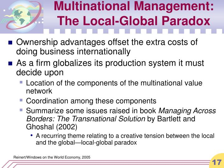 Multinational Management: The Local-Global Paradox