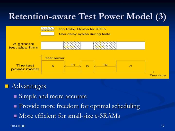 Retention-aware Test Power Model (3)